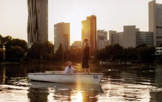 Bootfahren, Alte Donau © WienTourismus_Paul Bauer